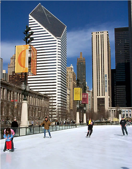 Sunday at the ice rink