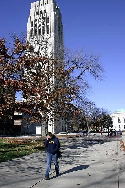 Burton Tower, University of Michigan