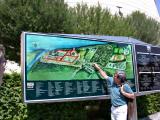 Tour Guide, Carl, at Melk Abbey