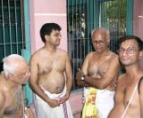 Sri  Anbil Swami, Sri Shreyas Sarangan, Sri Srinivasan, Sri Sadagopan Iyengar