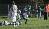 Jim Kvassay running with the ball..........