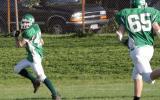 Jim Kvassay running with the ball