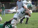 Colin Ballard making another tackle