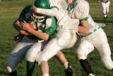 Tony Verdon protecting the ball