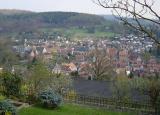 Blick auf der Altstadt -View of Büdingen's Old Town