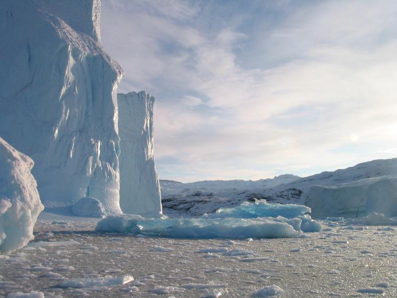 Iceberg with Sky