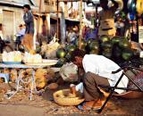 Slicing Pineapples, Sihanoukville
