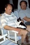Dave With the Resident Cat; el Gatto