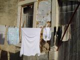 Wäsche in den Gassen