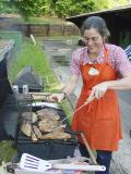 Mikey and her famous marinated  turkey breasts 0231.jpg