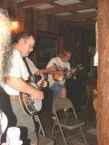 Chris Swift (Easy Pickin's) and Dale Reno (Hayseed Dixie)