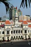View of City Hall from the Rex Hotel