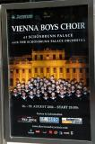 Vienna Boys Choir sold out tonight at Schoenbrunn Palace