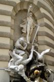 Michaelerplatz, Hofburg,Vienna