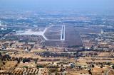 Approach to Runway 9 at Tripoli Airport, Libya (HLLT)
