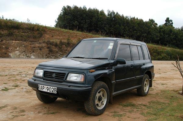 The Suzuki 4WD is still clean