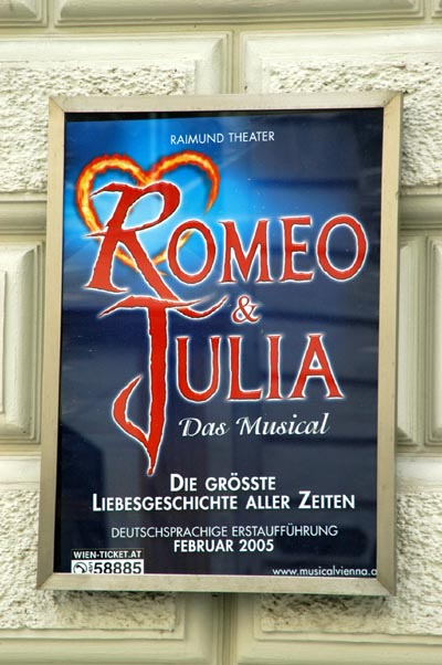 German language musical Romeo & Julia