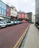 Street and Walls outside of Caernarfon Castle