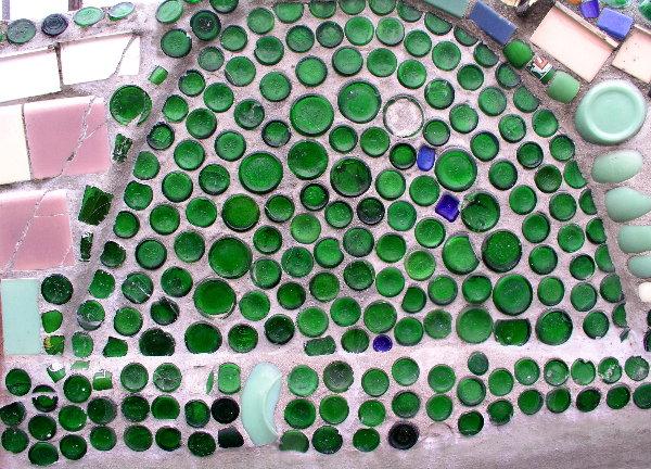 Bottles, Pottery & Tiles