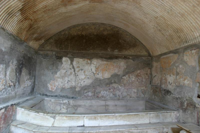 Womens sector of the Central Baths.