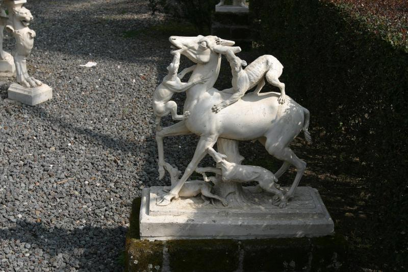This was in Deer House - named for two statues found in the garden: deer being pursued by hunting dogs.
