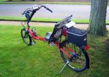 Burley Jett Creek recumbent bicycle