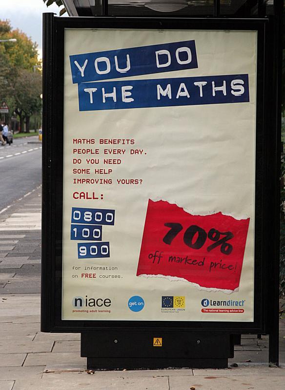 Public service ad for math