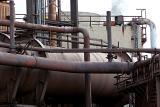 Part of the Teesside blast furnace