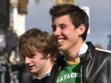 Young Lads Smiling
