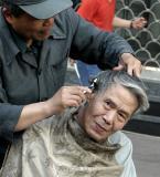 Street Haircut