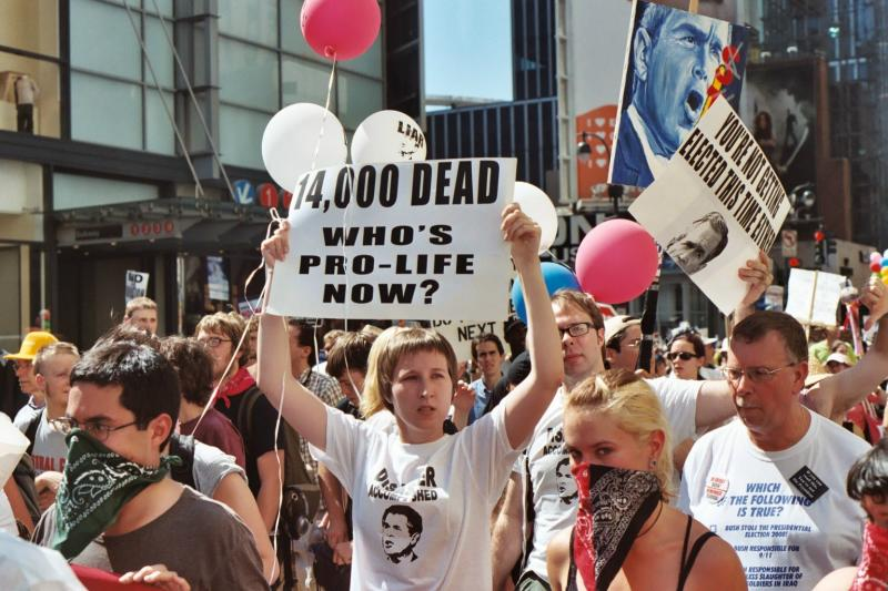 14000 Dead -- Whos Pro-Life Now?