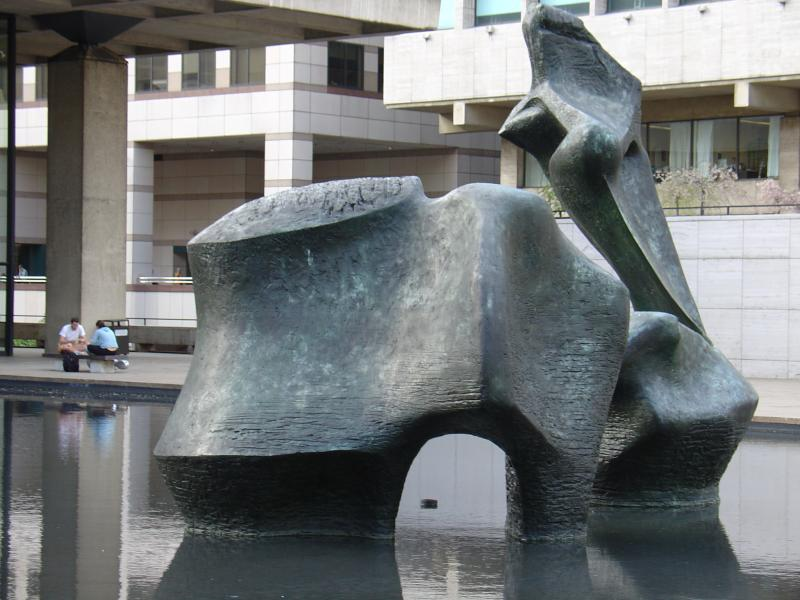 Sculpture at Lincoln Center