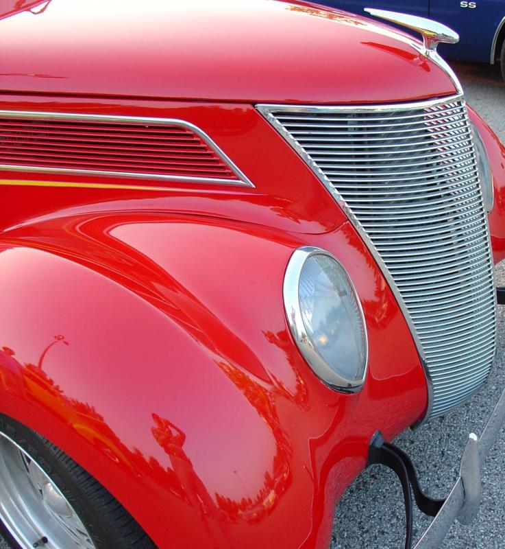 A 1937 Ford