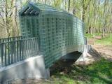 Glass bridge at Cheekwood