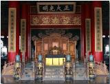 Emporer's reception area - Forbidden City, Beijing