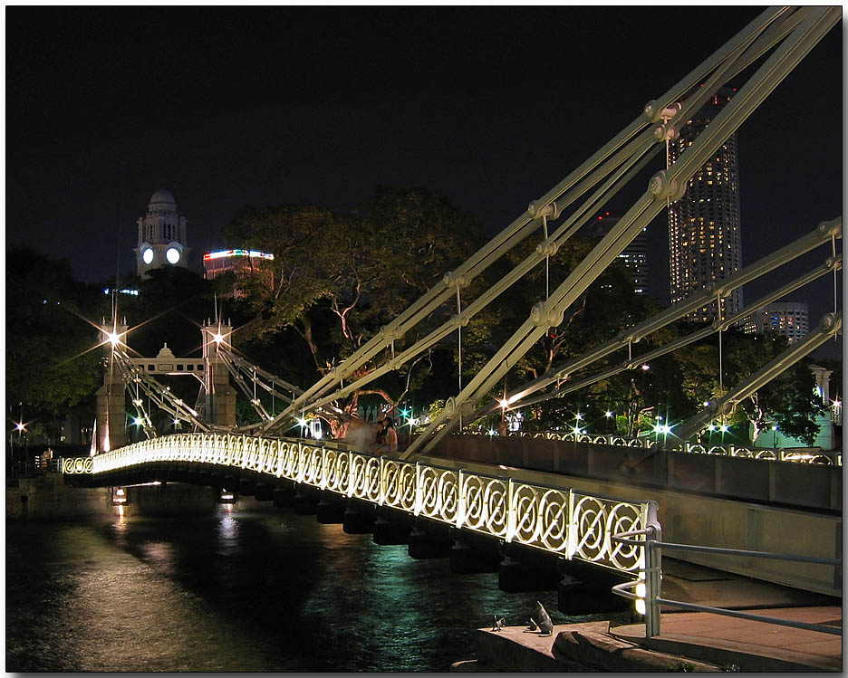 Cavenagh Bridge at Fullerton