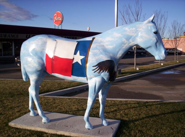 Flag Horse 3