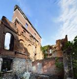 Old St. Mary's College in Ruins