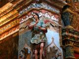 Very elaborate sculptures and paintings
