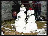 Mr & Mrs Snowy PoPArt