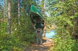 Portaging the Canoe