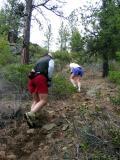Climbing the Grunt Hill