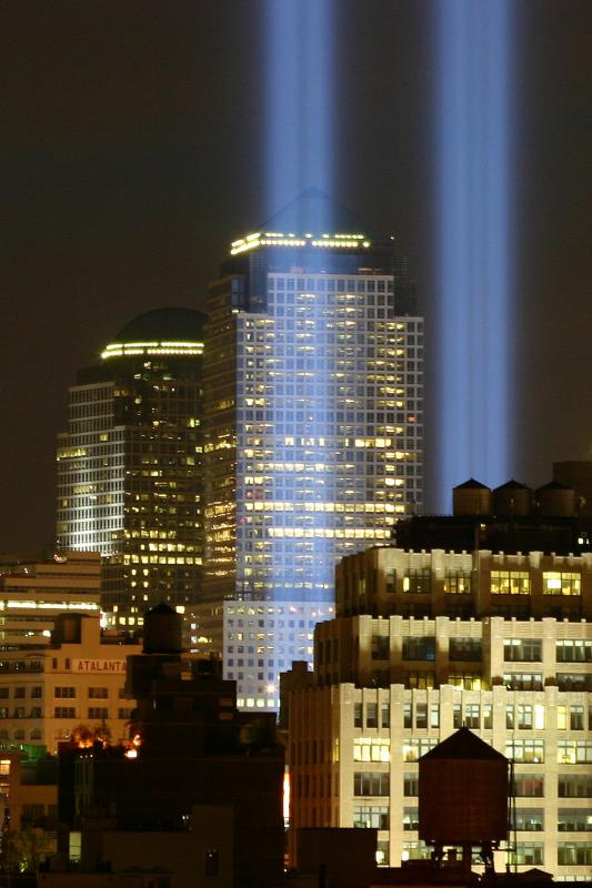 2004 Towers of Light from Washington Square