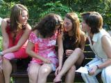 schattige meisjes.....