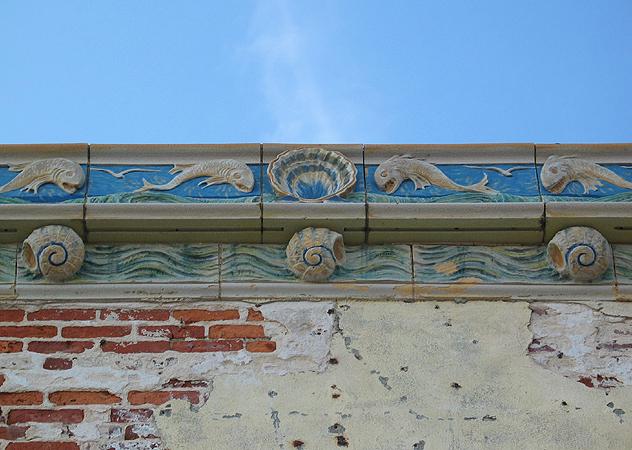 Detail of Building Facade, Coney Island