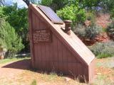 Solar Restroom. It's cooking!
