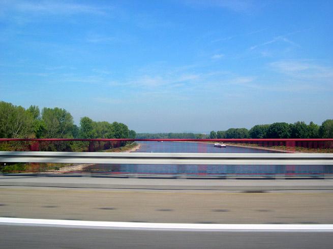 Crossing Rhine River