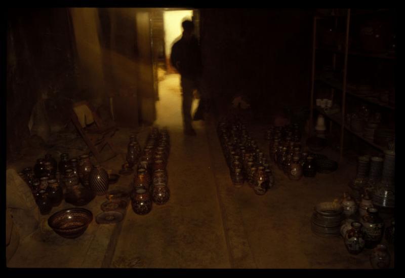 Pots in Green Room
