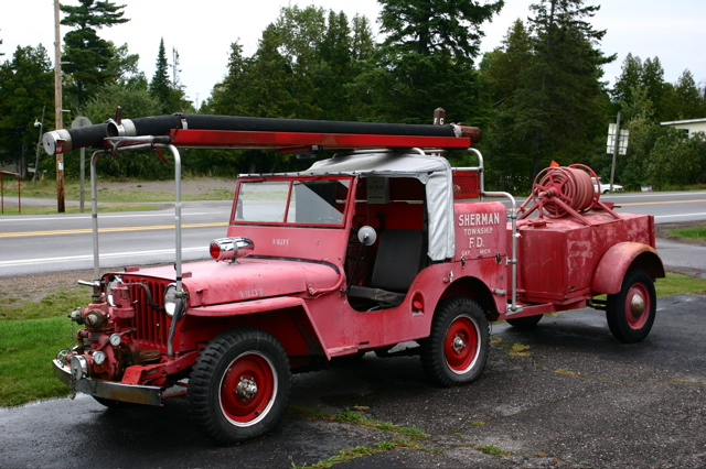 47 Jeep Firetruck