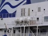 Liferafts on ship